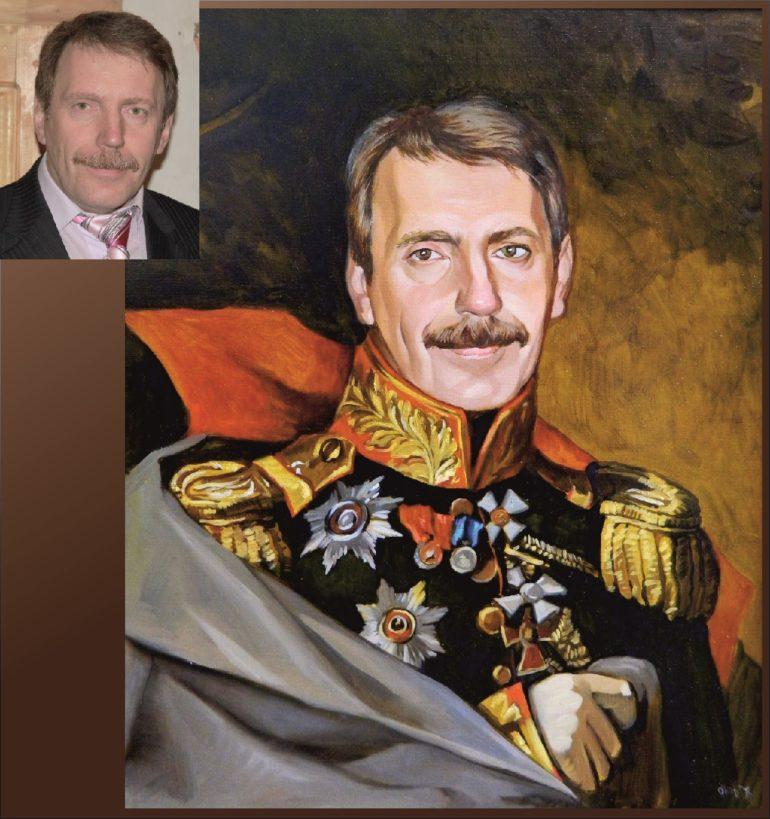 Настоящий портрет маслом на заказ в Туле…