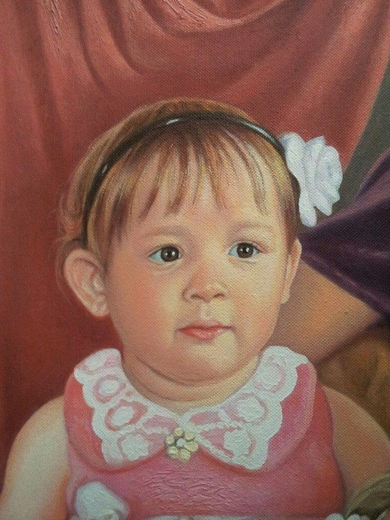 Портрет маслом семейный Тула