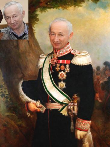 Где заказать исторический портрет по фото на холсте в Туле?