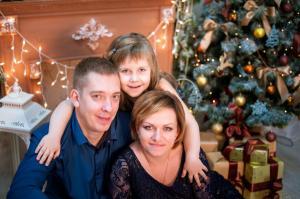 Семейное фото на холсте