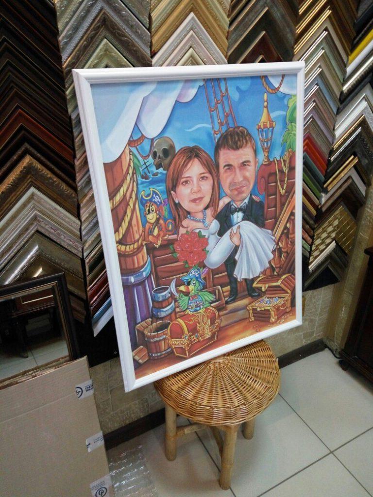 портрет шарж на заказ в Туле