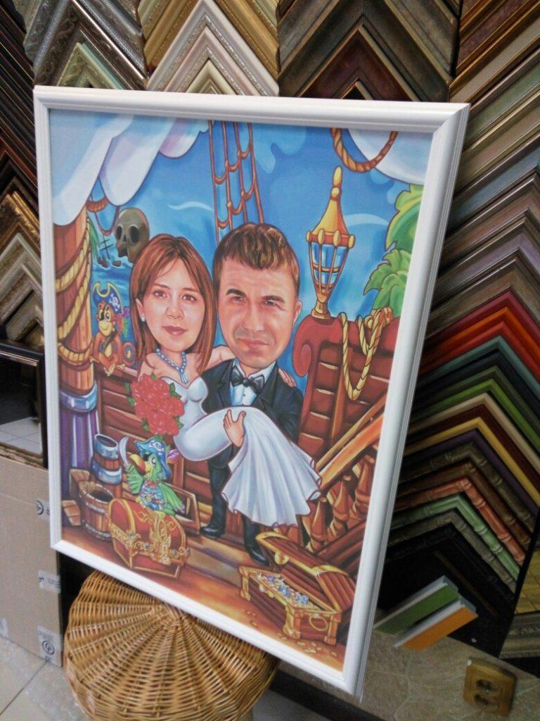 шарж по фото на заказ в Туле